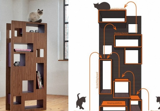 WOHNBLOCK cat tree