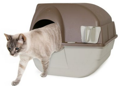 Omega Paw self-cleaning litter box review