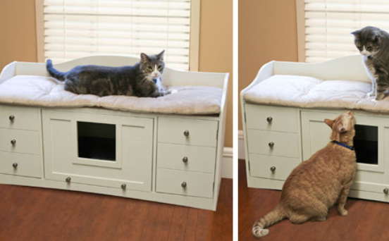 cat litter furniture for multiple cats featured
